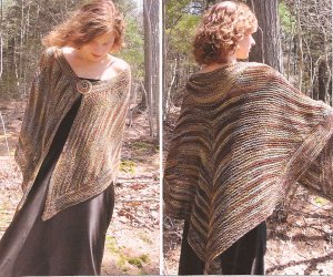 Ilga Leja Handknit Designs Patterns - Lady of the Forest Pattern