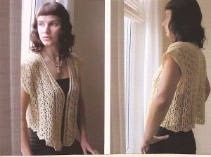 Ilga Leja Handknit Designs Patterns - Antique Lace Pattern