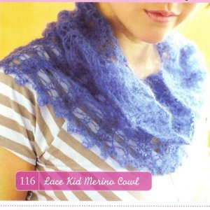 CPY Kid Merino Lace Kid Merino Cowl Kit - Scarf and Shawls