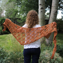 Urth Yarns Monokrom Chunky Midsomer Shawl Kit