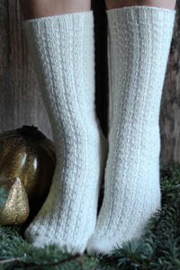 Feel Good Yarn SilverSpun® Pinz Socks Kit - Socks