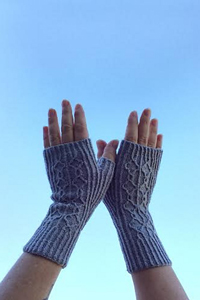 Feel Good Yarn SilverSpun® Happy Hands Gloves Kit - Hats and Gloves