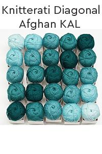 Cascade Yarns Knitterati Diagonal Afghan 2019 Kit - Home