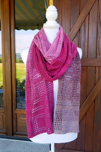 Scheepjes Whirl Hopscotch Scarf Kit - Scarf and Shawls