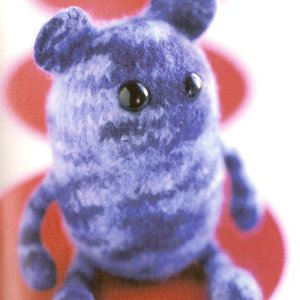 Malabrigo Merino Worsted Little Monster Bear Kit - Felting