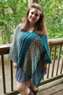 Malabrigo Rios Honeycomb Hollow Poncho Kit