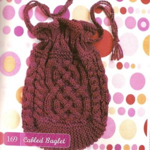 Lornas Laces Shepherd Worsted Cabled Baglet Kit - Women's Accessories