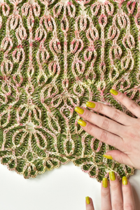 Freia Fine Handpaints Blooming Brioche Shawl Kit - Scarf and Shawls