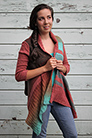 Freia Fine Handpaints Sequoia Cardigan Kit