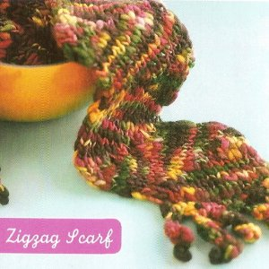 Manos del Uruguay Zigzag Scarf Kit - Scarf and Shawls