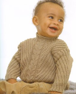 Rowan Wool Cotton Marshall Kit - Baby and Kids Pullovers